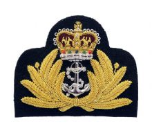 Royal Navy Officer Blazer Badge